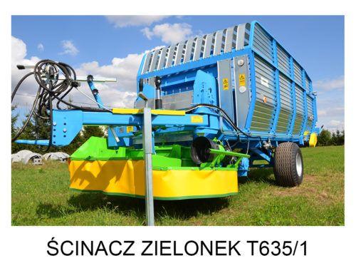 Ścinacz zielonek T635/1