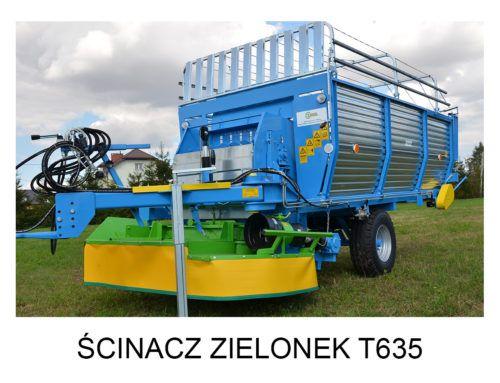 Ścinacz zielonek T635