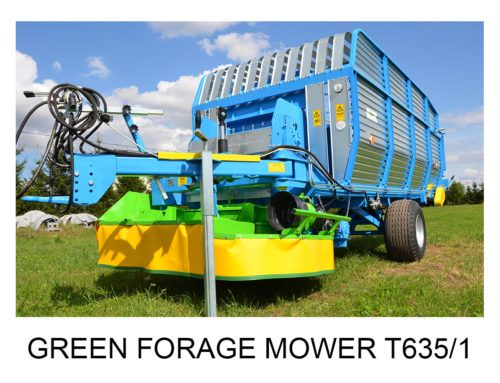 Green Forage Mower T635/1