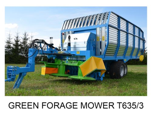 Green Forage Mower T635/3