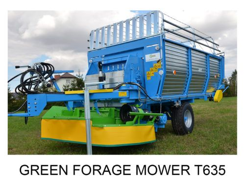Green Forage Mower T635